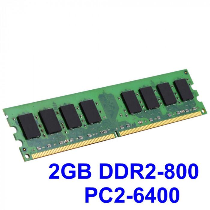 2GB DDR2-800 PC2-6400 800MHz , Memorie Desktop PC DDR2 ,Testata cu Memtest86+