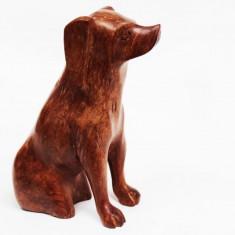 Figurina lemn, caine, 13 LL-619 - Miniatura Figurina