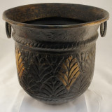 Planter bronz mare - Bol