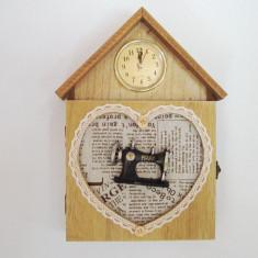 Cutie pentru chei cu ceas - Cutie Ceas
