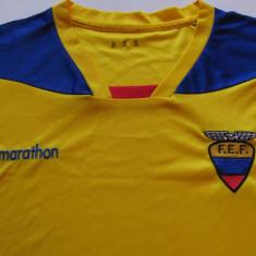 Tricou fotbal - ECUADOR (nationala) - Tricou echipa fotbal, Marime: S, Culoare: Din imagine