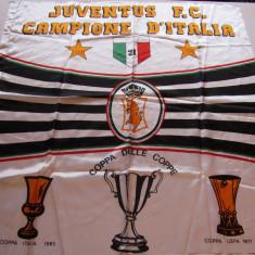Steag fotbal suporter - JUVENTUS TORINO