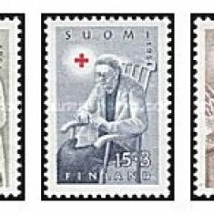 Finlanda 1954 - crucea rosie, serie neuzata