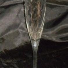 Pahar sampanie cu model H = 25 cm ɸ = 5 cm