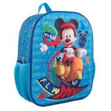 """Ghiozdan 12, 5"""" 3D Mickey"""