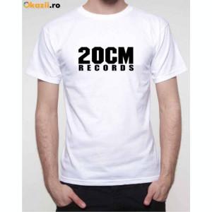 Tricou 20 CM RECORDS PARAZITII 20CM personalizat rap hip hop