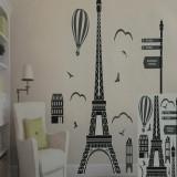 Sticker decorativ model Turnul Eifel