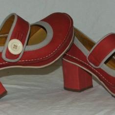 Pantofi ART - nr 39 - Pantof dama, Culoare: Din imagine, Piele naturala, Cu toc