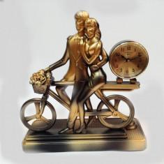Statuie cu ceas El si Ea - Ceas de semineu