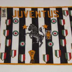 Stegulet fotbal suporter - JUVENTUS TORINO - Steag fotbal