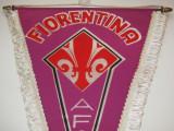 Fanion fotbal (dimensiuni mari 37x27 cm) - AC FIORENTINA (Italia)