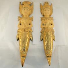 Statuete lemn Rama Sita 50cm 2/set - Arta din Africa