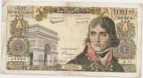 FRANTA 100 NOUVEAX FRANCS FRANCI NOI BONAPARTE 4-6-1959 U