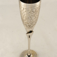 Pahar alama cu picior infiletat