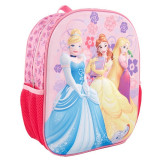 "Ghiozdan 12, 5"" 3D Princess"
