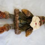Figurina textil cu buzunar - Jucarie carucior copii