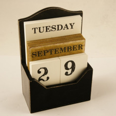 Calendar MDF 10 piese - Calendar colectie