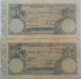 Bancnote ROMANIA 100000 Lei:  August 1945+  Aprilie 1946 *cod 494