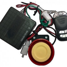 ALARMA CU PORNIRE - 1 TELECOMANDA - Alarme Moto