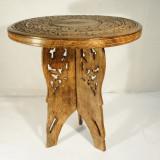 Masa lemn ars 3 picioare medie