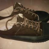 Pantofi barbati, Marime: 44, Culoare: Maro, Piele intoarsa, Sport
