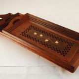 Tavi lemn dreptunghiulare 3/set