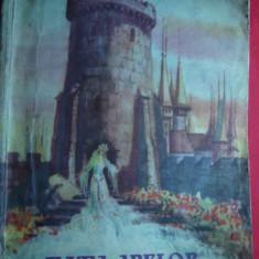 Veronica Porumbacu - Fata Apelor - Ed.Tineretului 1954, ilustratii M.Constantin - Carte de povesti