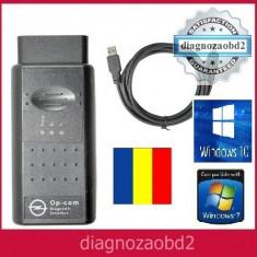 Interfata diagnoza Opel - tester Op.Com lb. romana, germana, engleza 2010 OBD2 - Interfata diagnoza auto