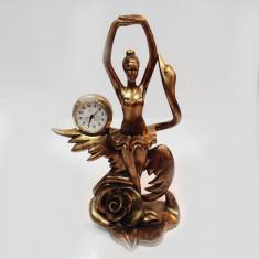 Statuie cu ceas balerina - Ceas de semineu