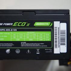 Sursa ATX NOUA 400W Sirtec ECO HPE-400-A12S ATX 2.3 eficienta 82% PFC activ - Sursa PC