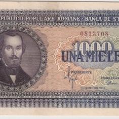 ROMANIA 1000 LEI 1950 AUNC - Bancnota romaneasca