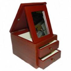 Dulap pentru bijuterii cu oglinda si rama foto