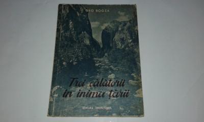 GEO BOGZA - TREI CALATORII IN INIMA TARII foto