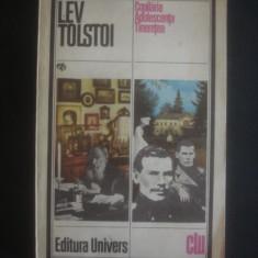 LEV TOLSTOI - COPILARIA ADOLESCENTA TINERETEA