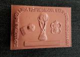 Placheta Brasov Fotbal 1982