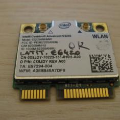 Placa wireless Dell Latitude E6420, Centrino Advanced-N 6205, 62205ANHMW, 0X9JDY
