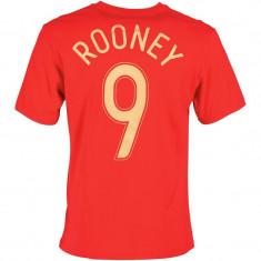 Tricou de fotbal barbati Nike England ORIGINAL cu ROONEY masura M - Tricou echipa fotbal, Marime: M, Culoare: Rosu, Nationala, Anglia, Maneca scurta