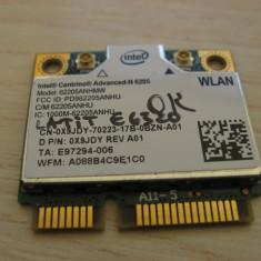 Placa wireless Dell Latitude E6320, Centrino Advanced-N 6205, 62205ANHMW, 0X9JDY