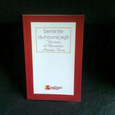 SEMINTE DUHOVNICESTI - PARINTELE ARSENIE BOCA