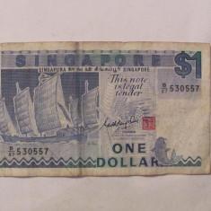 CY - Dollar dolar 1987 Singapore - bancnota asia