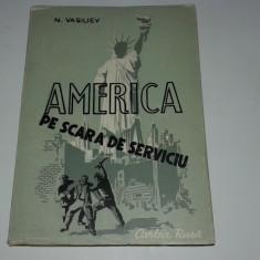 N.VASILIEV - AMERICA PE SCARA DE SERVICIU - Roman