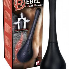 Rebel Anal Shower Black - Igiena si ingrijire