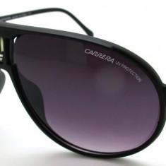 Ochelari Soare - CARRERA - Polarizati, UV400, Aviator Style - Negru, Femei, Protectie UV 100%