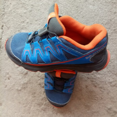 Adidasi copi - Adidasi copii Salomon, Marime: 33, Culoare: Bleu