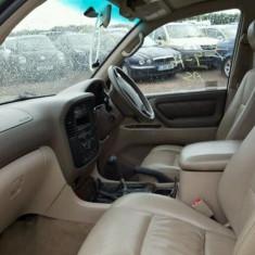 Scaune fata Piele Toyota Land Cruiser J 100 Impecabile electrice - Scaune auto Carpoint