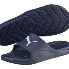 Slapi, Papuci Puma Dive Cat-Slapi originali, Papuci Plaja 360274-03 - Slapi barbati Adidas, Marime: 40.5, 42, 43, 44, 44.5, 46, Culoare: Din imagine