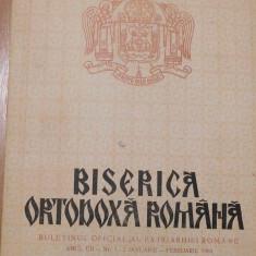 Biserica Ortodoxa Romana – Buletin Oficial de Patriarhiei Romane
