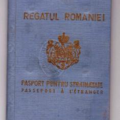 PASAPORT-CAROL-II-REGATUL ROMANIEI-PASAPORT PENTRU STRAINATATE, Romania 1900 - 1950, Pasapoarte