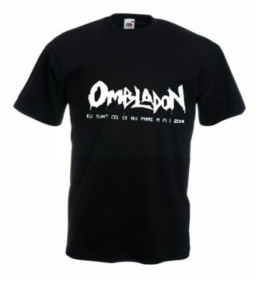 Tricou OMBLADON Eu sunt cel ce nu pare a fi ,S,Tricou personalizat.Tricou Cadou foto