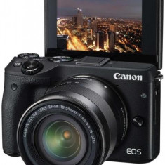 Canon EOS M3 Premium kit (18-55 S objektív + EH27-CJ toc + EM-E2 curea + 16GB SD card)